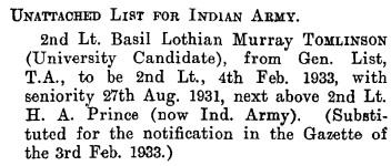 The London Gazette, 25 August 1933, page 5609, column 1; https://www.thegazette.co.uk/London/issue/33972/page/5609/data.pdf.