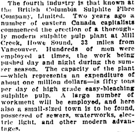 Vancouver Daily World, March 21, 1912, page 21, column 2.