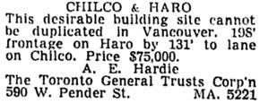 Vancouver Sun, June 6, 1953, page 50, column 8.
