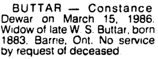 Vancouver Sun, March 21, 1986, page 21, column 4.