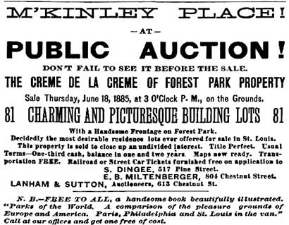 St. Louis Post-Dispatch (St. Louis, Missouri), June 12, 1885, page 6, columns 5-6.