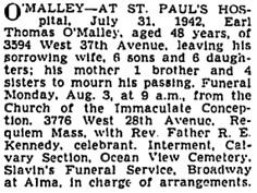 Vancouver Sun, August 1, 1942, page 20, column 1; https://news.google.com/newspapers?id=ATNlAAAAIBAJ&sjid=OIkNAAAAIBAJ&pg=1205%2C3711107.