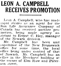 The Central New Jersey Home News (New Brunswick, New Jersey), December 22, 1930, page 9, column 8.