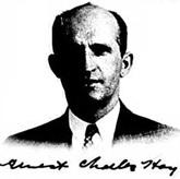 Ernest Charles Hoy - naturalization application