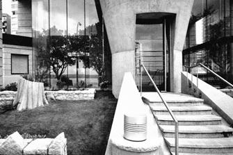 Eugenia Place, entrance, Henriquez Partners Architects; http://henriquezpartners.com/work/eugenia-place-tower/.