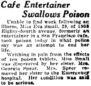 Oakland Tribune (Oakland, California), January 13, 1928, page 41, column 8.