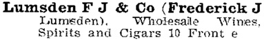 Toronto City Directory, 1898, page 1041; http://static.torontopubliclibrary.ca/da/pdfs/tcd1898.pdf.
