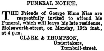 Evening Post (Wellington, New Zealand), volume XXXVI, Issue 119, 17 November 1888, page 3, column 2; https://paperspast.natlib.govt.nz/newspapers/EP18881117.2.52.2.