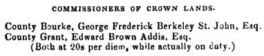 Port Phillip, Australia, Directory, 1847, page 29.