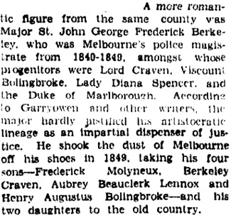 """Wessex, The Birthplace of Empire"" The Age (Melbourne, Victoria), August 15, 1936, page 6, columns 3-4; https://trove.nla.gov.au/newspaper/article/204910523."