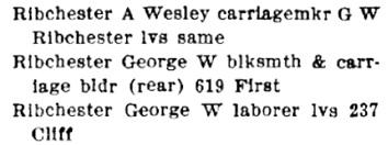 Henderson's Edmonton City Directory, 1908, page 181, column 2; http://peel.library.ualberta.ca/bibliography/2962.3/201.html.