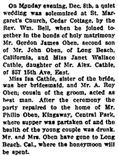The Western Call, December 19, 1913, page 3, column 4; https://open.library.ubc.ca/collections/bcnewspapers/xwestcall/items/1.0188747#p2z-7r0f:
