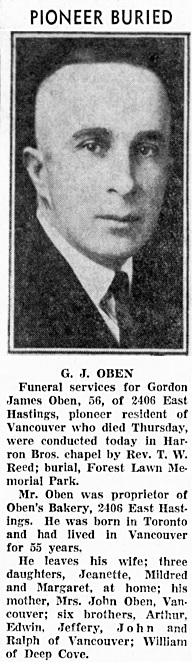 Vancouver Sun, January 3, 1944, page 8, column 2.