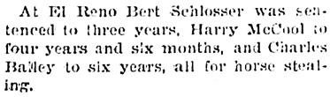 The Wichita Beacon (Wichita, Kansas), December 16, 1897, page 4, column 3.