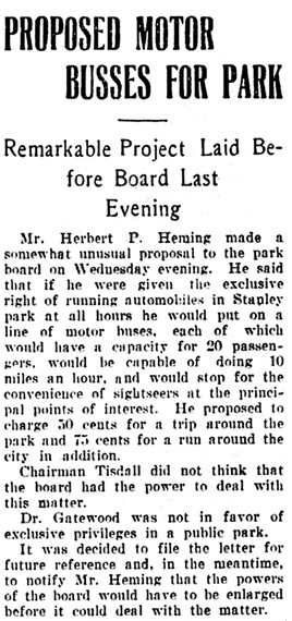 Vancouver Daily World, September 13, 1906, page 16, column 4.