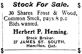 The Ottawa Citizen, March 11, 1905, page 5, column 5.