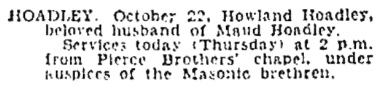 The Los Angeles Times, October 24, 1929, page 24, column 3.