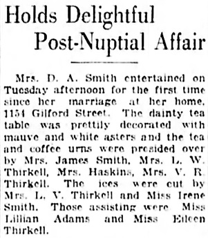 Vancouver Daily World, September 26, 1923, page 7, column 5.