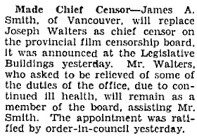 Victoria Daily Colonist, February 5, 1931, page 6, column 5; http://archive.org/stream/dailycolonist0231uvic_2#page/n5/mode/1up.