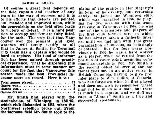Vancouver Daily World, December 5, 1896, page 6, column 5 and page 7, column 1.