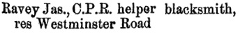 Henderson's BC Gazetteer and Directory, 1889, page 409.