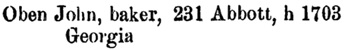 Henderson's BC Gazetteer and Directory, 1891, page 450 [edited image].
