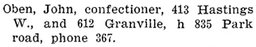 Henderson's BC Gazetteer and Directory, 1903, page 775.