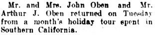 Vancouver Daily World, May 2, 1908, page 11, column 3.