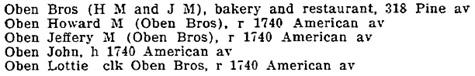 Long Beach, California, City Directory, 1913, page 230.