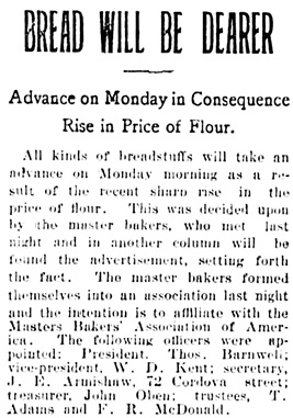 Vancouver Daily World, May 10, 1902, page 1, column 6.