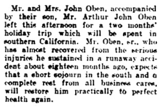 Vancouver Daily World, April 2, 1908, page 7, column 5.