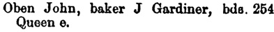 Toronto City Directory, 1884, page 560, column 1.