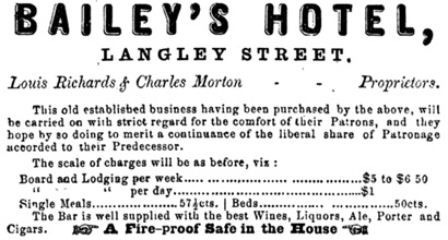 First Victoria Directory, Third [i.e. Fourth] Issue, and British Columbia Guide, 1871, advertisements section [unpaged]; https://books.google.ca/books?id=Q90OAAAAYAAJ&pg=PP3#v=onepage&q&f=false.
