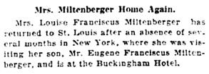 St. Louis Post-Dispatch (St. Louis, Missouri), February 19, 1928, page 23, column 2.