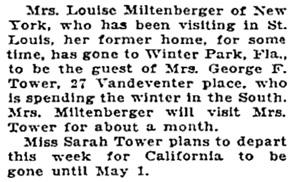 St. Louis Post-Dispatch, March 7, 1932, page 15, column 4.