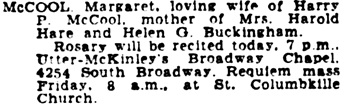 The Los Angeles Times, June 22, 1944, page 11, column 6.