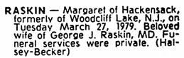 The Record (Hackensack, New Jersey), March 29, 1979, page 50, column 7.