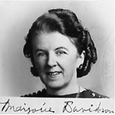 Marjorie Davidson [Marjorie Truell] - naturalization - declaration date: 31 Oct 1940.