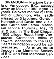 Vancouver Sun, May 11, 1982, page C-1.