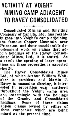 Calgary Herald, May 15, 1930, page 26, column 3.