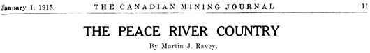 Canadian Mining Journal, volume 36, number 1; January 1, 1915, pages 11-12; https://archive.org/stream/canminingjjanjun1915donm#page/n41/mode/1up; https://archive.org/stream/canminingjjanjun1915donm#page/n43/mode/1up.
