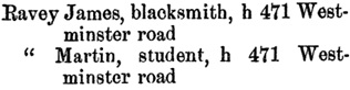 Henderson's BC Gazetteer and Directory, 1891, page 457.