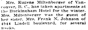 The St. Louis Star and Times (St. Louis, Missouri); November 24, 1912, page 23, column 6.