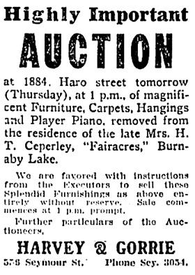 Vancouver Sun, June 26, 1918, page 11, column 2.
