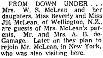 The Vancouver Sun, August 3, 1949, page 23, column 1.