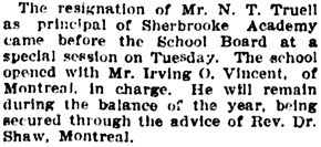 The Gazette (Montreal), April 24, 1908, page 10, column 4.