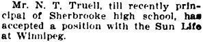 The Gazette (Montreal), May 18, 1908, page 5, column 7.