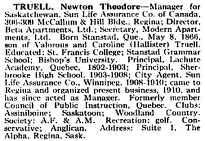 Who's Who in Canada, Volumes 6-7, International Press Limited, 1914, page 747, https://books.google.ca/books?id=dy9if3Yix8UC&pg=PA747#v=onepage&q&f=false.