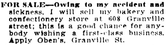 Vancouver Daily World, July 19, 1907, page 19, column 1.