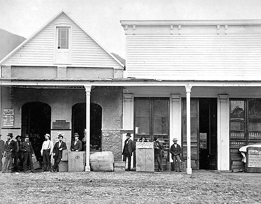 Oppenheimer Brothers Mercantile Store, Yale, about 1868, British Columbia Archives; Item E-01924; https://search-bcarchives.royalbcmuseum.bc.ca/oppenheimer-brothers-merchantile-store-yale.